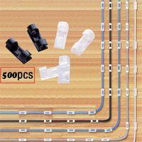 케이블 주최자 클립 케이블 관리 데스크탑 워크 스테이션 ABS 와이어 관리자 코드 홀더 USB 충전 데이터 선 Bobbin Winder FWA2835