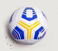 20 21 Bästa Quality Club Serie A League Match Soccer Ball 2021 Storlek 5 Bollar Granules Slip-Resistent Fotboll Gratis Frakt Högkvalitativ Bal