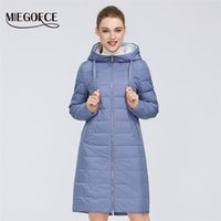 Miegofce Yeni Tasarım Bahar Ceket kadın Ceket Rüzgar Geçirmez Sıcak Kadın Parka Avrupa ve Amerikan Kadın Model Kadın Ceket 201217