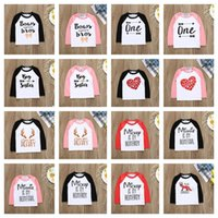 الكرتون المطبوعة الأطفال طويلة الأكمام مقنعين sweatershirt المرقعة أعلى البلوز بنين بنات سوياتشيرتس عيد الفصح عيد الحب E121605