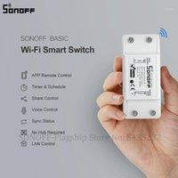 ITead Sonoff Basic R2 Mini Module de bricolage WiFi Commutateur de lumière sans fil Approche de télécommande de télécommande 220V Smart Home Interrupteurs électriques1
