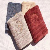 Современный стиль ванна полотенце хлопок классический дизайн полотенце высокого качества Горячая распродажа стиль роскошные полотенца для лица бесплатный корабль