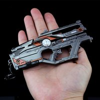 Apex Legends Model Key Chain Children Gifts Keychain Alloy Battle Royale Game Weapons Metal Rifle Gun Keyring