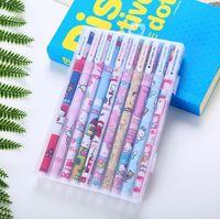젤 펜 컬러링 도서 아트 마커 크리 에이 티브 학교 사무실 편지지 쓰기 학교 용품 그리기 펜 학생 선물 10colors / 상자 zyy152