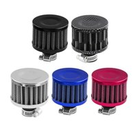 Filtro de aire de estilo de champiñones universal de 12 mm para motocicletas Ingesta de aire frío High Flujo Cubierta de ventilación Mini filtros de respiradero
