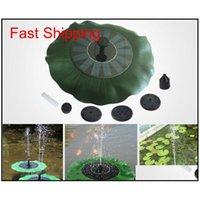 مضخة المياه بالطاقة الشمسية 7 فولت العائمة waterpomp لوحة حديقة النباتات سقي الطاقة نافورة بركة matical للنوافير qylimp packing2010