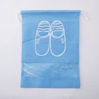 Bolsa de almacenamiento de tela no tejida Portátil Zapatillas de viaje de impresión Paquete Bolsos de bolsas de bolsas Pink Home Mujeres Hombres Inicio Nuevo 1 18BD M2