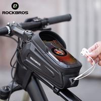 RockBros New Design Велосипедная рамка Front 8.0 Чехол для телефона Дождеустойчивый Сенсорный экран Велосипедная сумка Велосипедные аксессуары