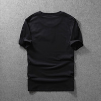 L-7XL cotone mens t camicie over size morbide magliette maschili maschili nero uomo donne moda casual estate fresco t shirt top magliette manica corta