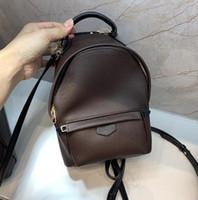 Banco a tracolla in vera pelle di alta qualità Designer Genuine Borsa a tracolla in vera pelle Borsa a tracolla Mini Backpack Messenger Borsa per cellulare M44873