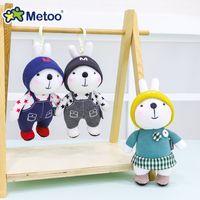 Mini Metoo Bebek Yumuşak Peluş Oyuncaklar Kızlar Için Dolması Hayvanlar Bebek Sevimli Güzel Tavşan Küçük Anahtarlık Kolye Çocuk Boys için