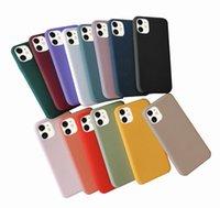 Candy Color Phone Case для iPhone 12 11 Pro Max XS XR X 7 8 плюс мягкий TPU Cover для Huawei Samsung Xiaomi