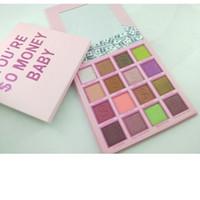 2019 nouveau maquillage oculaire palette d'ombre à paupières bébé tache à paupières bébé 16 couleurs mate Shimmer Palette Palette Livraison gratuite.