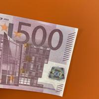 Soldi Creative PROP MONEY FAKE BANKNOTE PLAY PLAY MONEY MONEY 500 REGALO PER BAMBINI EURO Simulazione Euro Movie Dimensioni del film 136 DJbou