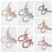 Kendra Stil Sophee Alaşım Çerçeve Oval Scott Küpe Moda Dangle Earringsps0832