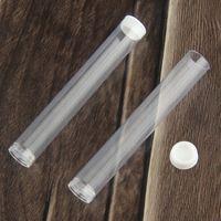 Ouvrir des cartouches de Vape Clear Conteneur Tube en plastique Emballage pour réservoir vide Cire épaisseur de vaporisateur de vaporisateur d'huile E Cigs Cigs Cigare Cartomizer Atomizer