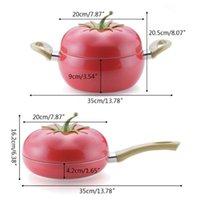 Pans Fruit Tomato Stockpot Сковорода сковорода кастрюля горшок кастрюля кабельная индукционная плита алюминий
