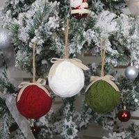 Рождественские украшения дерева вязаные рождественские шариковые кулон для дома праздник домой вечеринка висит декор Новый год украшения JK2011XB