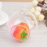 1 pc 60mm suspenso titular titular globos de vidro terrário casamento castiçal castiçal vaso home hotel decoração EF3572