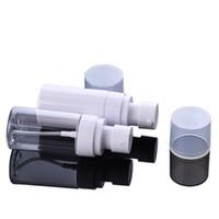 45ml 화장품 컨테이너 화이트 / 클리어 두꺼운 애완 동물 플라스틱 스프레이 펌프 병 여행 휴대용 분배 하위 병 액체 로션