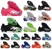 أحذية الساخنة 2020 المفترس Mutator 20.1 منخفضة FG الإشارة الخضراء في الأجواء PP بول بوغبا رجل بنين لكرة القدم لكرة القدم 20 + س المرابط أحذية US6.5-11