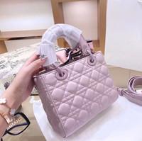Marke Designer Damen Mode Umhängetasche Messenger Bag Classic Retro Hohe Qualität PU Leder Buchstaben Weibliche Party 20 cm Handtasche