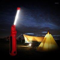 Şarj edilebilir COB LED İnce Çalışma Işık Lambası Katlanır Torch Sıcak Satış 202006131