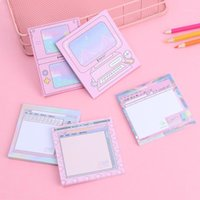 Novo 1 Pc 50sheet Computador Jogo Modelagem Memo Pad N Times Sticky Notes Memo Notpad Bookmark Planner Stickers Stationery1