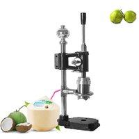 Neue Art Kommerzielle Hebel Stil Hand Presse Grüne Kokosnussöffnung Einlöchermaschine Kleine manuelle Frische Kokosnusslochstanzmaschine