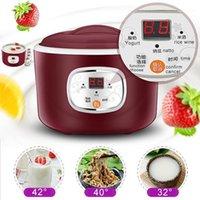 220V Electric Automatic Joghurt Maker Thermostatische Küchenwerkzeuge JoghurThersteller Reis Wein Natto Maschine Edelstahl Liner1