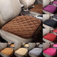 Cubiertas de asiento de automóviles Accesorios de carros sin espalda ACCESORIOS NO SLIQUE SOLDO Cojín individual con Pocket Rhombus Pattern Fashion 7 5RP G2