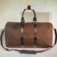 2021 Nuevas bolsas de moda de moda y bolsas para mujer Bolsas de lona Duffel Bolsos de equipaje Bolso deportivo de gran capacidad