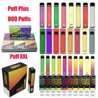 Puff Bar Plus Bang XXL-Einweg-Vape-elektronische Zigaretten-Kit-Stift-Pod 800 1600 2000 Puffs E CIGS-Kit