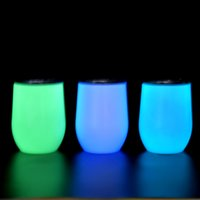 12oz glow in the dark tumblers Wine Tumbler sublimation DIY ...