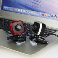 Webcams Mini 480P HD Computer Camera Camera USB Microfono da assorbimento del suono integrato 640 * 480 Risoluzione dinamica 360 rotazione