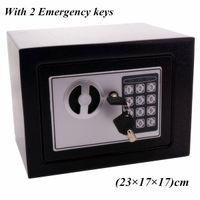 17E Digital Passwort Elektronische Safe Box Tastatur Lock Office Hotel Home Verwendung Waffe Stahl Schwarz Für Sicherheitsschmuck Watch Case Box