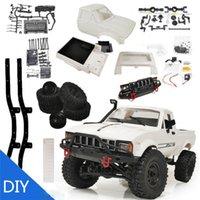 NewWST WPL C24 Actualización C24-1 1:16 RC Coche 4WD Control de radio Off-Road Mini RTR Kit Rock Crawler Buggy eléctrico Máquina de movimiento