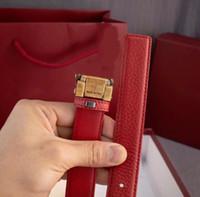 NUOVO ARRIVO DESIGN DESIGN CINTES FASHION Cintura per uomo Cinture da donna con lettere Casual fibbia liscia 3 stili in vita alta qualità con scatola