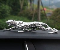 78 cm Grandi ornamenti Leopardi Decorazione auto Della Decorazione Casa Zhaocai Regali di apertura Regali Soggiorno TV Cabinet Artigianato Animale Artigianato