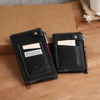Notepads KKBook Leather Leather Notebook A5 A6 A7 Diary Journal Mini Notepad مع مدرسة Pocket Office Planner