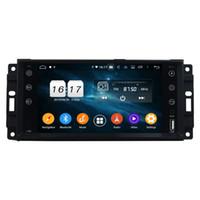 "Carplay DSP PX6 7 ""Android 10 auto DVD Stereo Radio GPS per Chrysler Sebring 300C Jeep Grand Cherokee Compass Wrangler Journe"