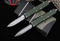 Yeni Mikro UT85 Taktik Katlanır Otomatik Bıçak D2 Savunma Cebi Survival Bıçak Hal Utx85 Bounty Hunter 150-10 A161 A162 A07 BM Oto Bıçak