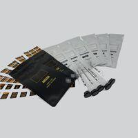 Silver White West Cure Edible 3PCS 1 шт. Суставов предварительно Roll Mylar Bags + пластиковые трубки Package 202 0 версия Vape Prreloll Предварительно проката