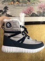 Bottes de femme Vente chaude bottes de neige d'hiver russe Botas mujer libre expédition hiver femmes chaussures antidérapantes avec linning fourrure chaude