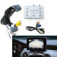 Автомобильный интерфейс камеры заднего вида для Mercedes 2019 A200 / GLE / B / GLC / GLSWITH Parking Prublicure Plug and Play