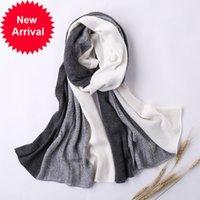 Hlicum masculino Costura de cashmere 180cm largo 60 cm senhoras lã lã xale marca homens e mulheres disponíveis