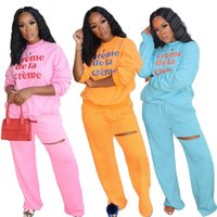 Autumn New Two Piece Sets Women Full Sleeve Tops And Sweat Pants Matching Sets Fashion Women