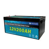OEM Pil LiFepo4 12 V 200AH Lityum Demir Fosfat Pil Paketi 12 V 100AH 200AH 300AH Depolama Pil