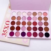 Stokta yüksek kalite !! Makyaj 35 Renkler Göz Farı Paleti 35xo Göz Farı Çıplak Mat Pırıltılı Palet Tozu Doğal Yüz Güzellik Kozmetik
