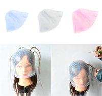 Receusable السيليكون يسلط الضوء قبعة تلوين الشعر تسليط الضوء على صبغ كاب صقيع البقشيش الصباغة لون أدوات الشعر أدوات التصميم